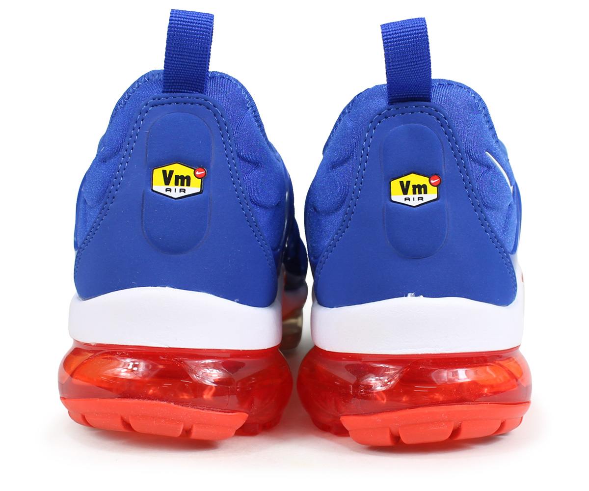 NIKE AIR VAPORMAX PLUS Nike air vapor max plus sneakers men 924,453 403 blue [load planned Shinnyu load in reservation product 818 containing]