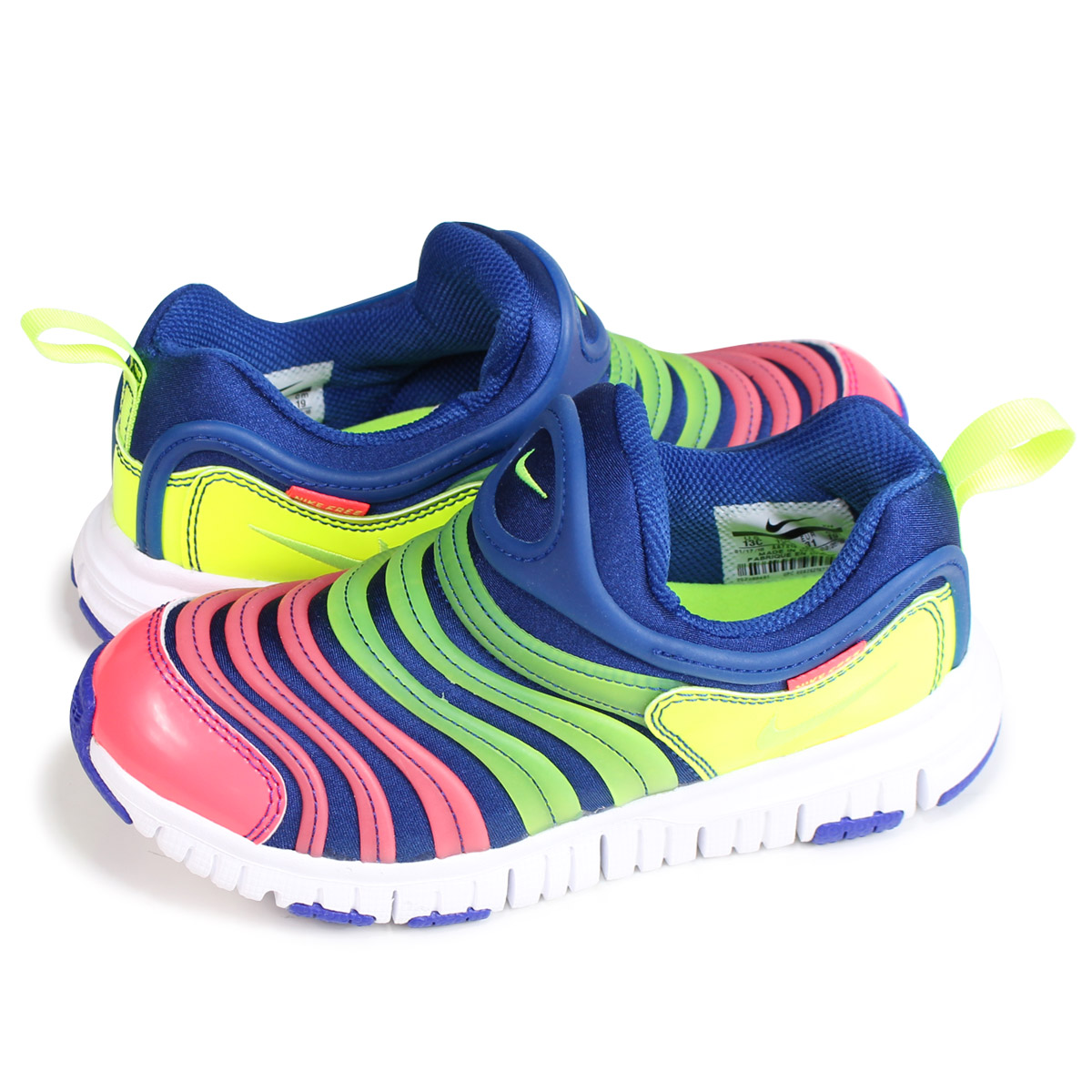 719d9991cfc4 NIKE DYNAMO FREE SE PS Nike dynamo-free kids sneakers AA7216-400 blue  load  planned Shinnyu load in reservation product 7 20 containing