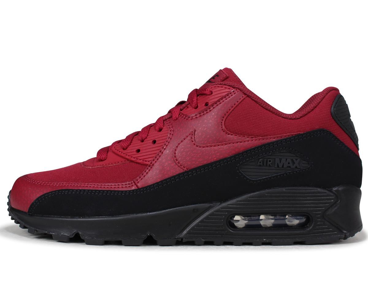 huge discount b7898 6e7dd NIKE AIR MAX 90 ESSENTIAL Kie Ney AMAX 90 essential sneakers men AJ1285-010  red [the 7/20 additional arrival]