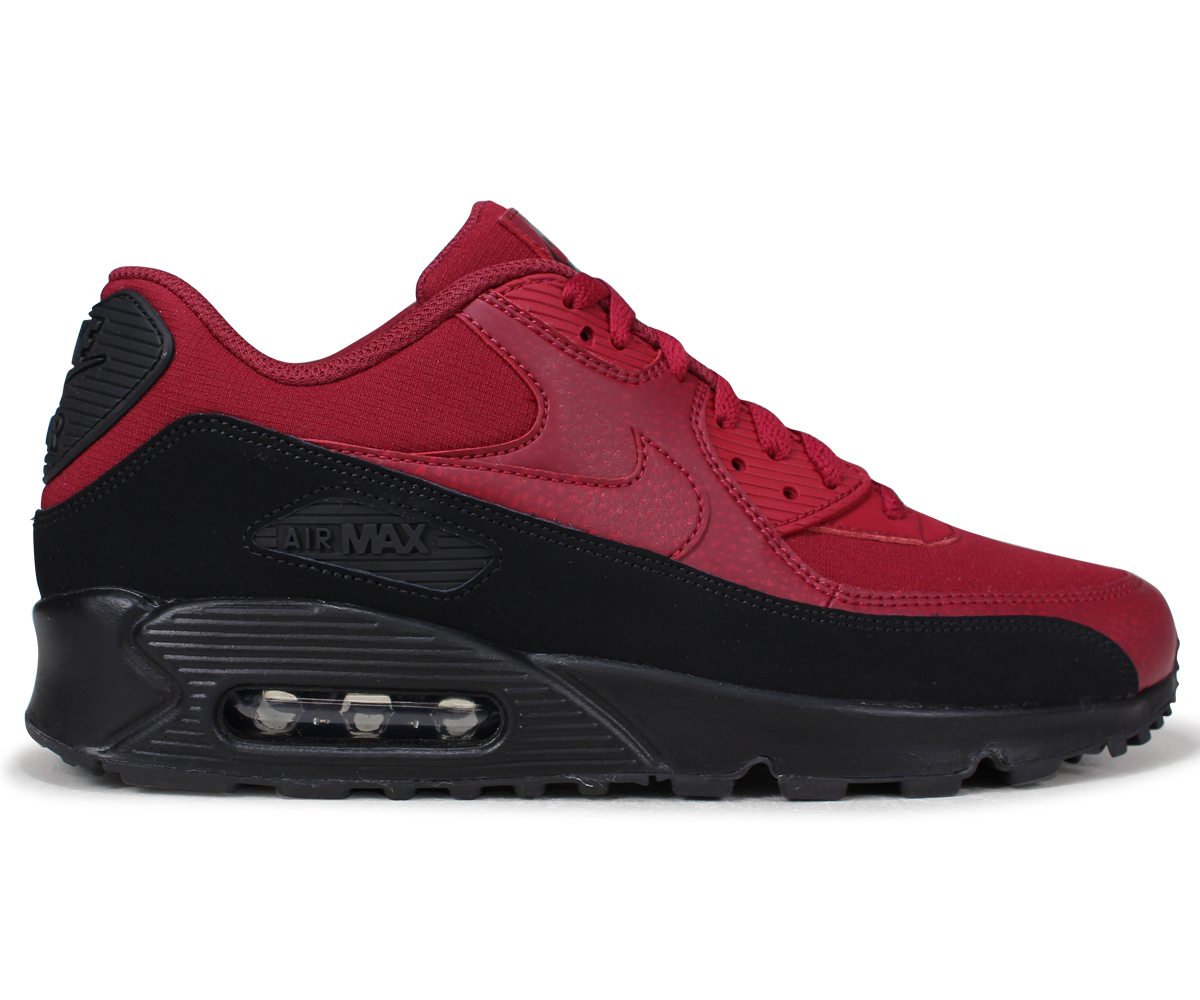 buty skate piękno przedstawianie NIKE AIR MAX 90 ESSENTIAL Kie Ney AMAX 90 essential sneakers men AJ1285-010  red [the 7/20 additional arrival]