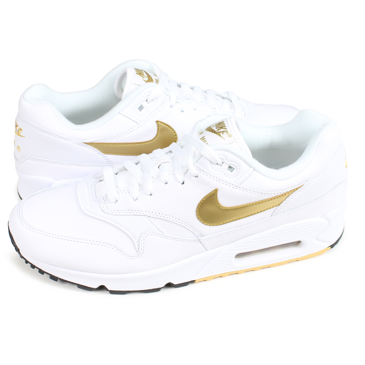 buy online 608a6 3c3d3 NIKE AIR MAX 90 1 Kie Ney AMAX 90 1 sneakers men AJ7695-102 white  load  planned Shinnyu load in reservation product 9 11 containing