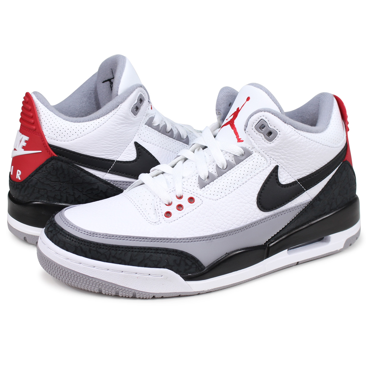 4933418b9d9 wholesale nike air jordan 3 retro tinker nike air jordan 3 nostalgic sneakers  men aq3835 160