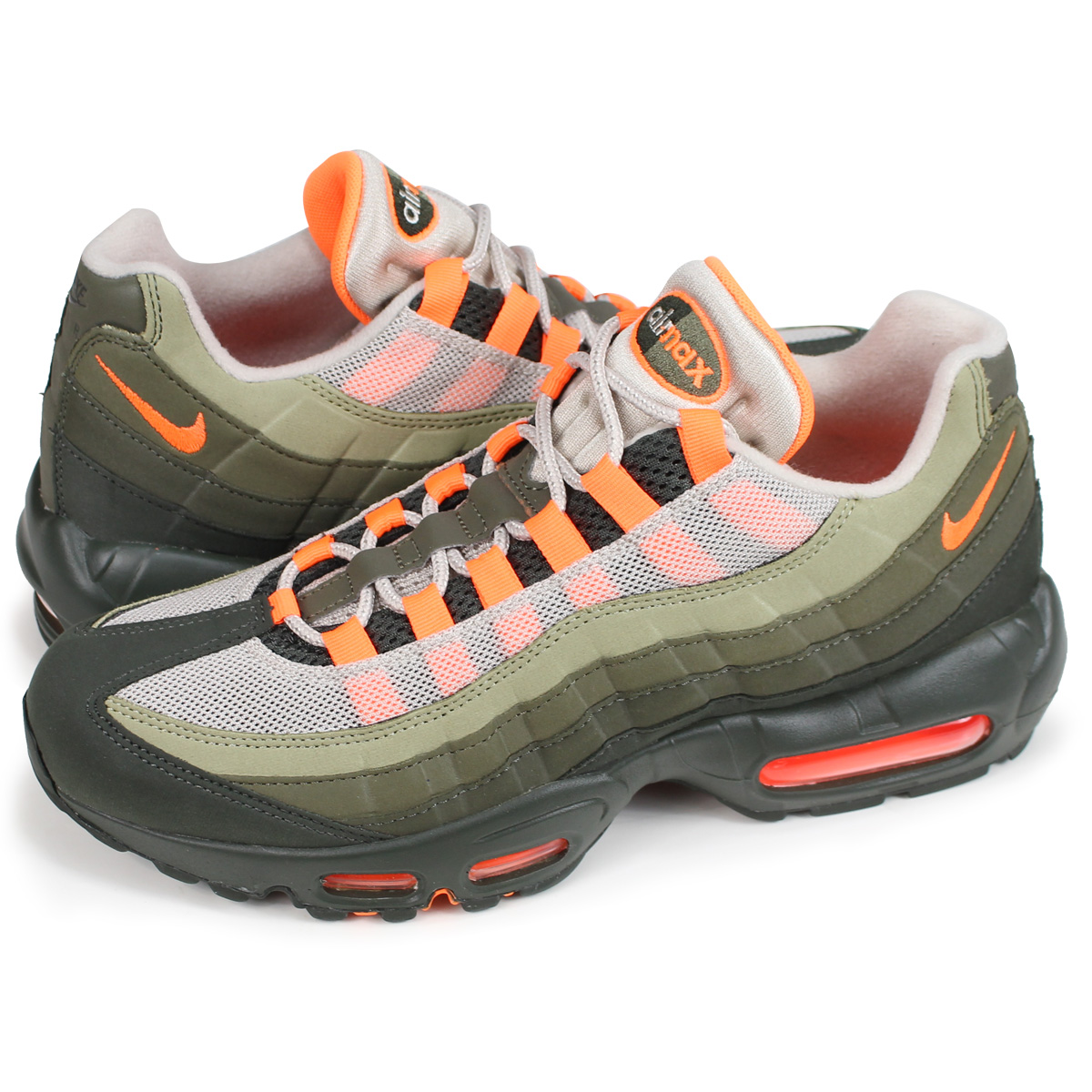 info for fd5d8 9c6b1 NIKE AIR MAX 95 OG Kie Ney AMAX 95 sneakers men gap Dis AT2865-200 orange  [load planned Shinnyu load in reservation product 9/6 containing]