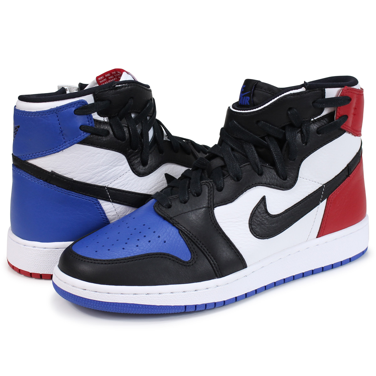 pretty nice 795b8 dc1f4 NIKE WMNS AIR JORDAN 1 REBEL XX OG Nike Air Jordan 1 nostalgic sneakers  Lady's AT4151-001 black [load planned Shinnyu load in reservation product  6/29 ...