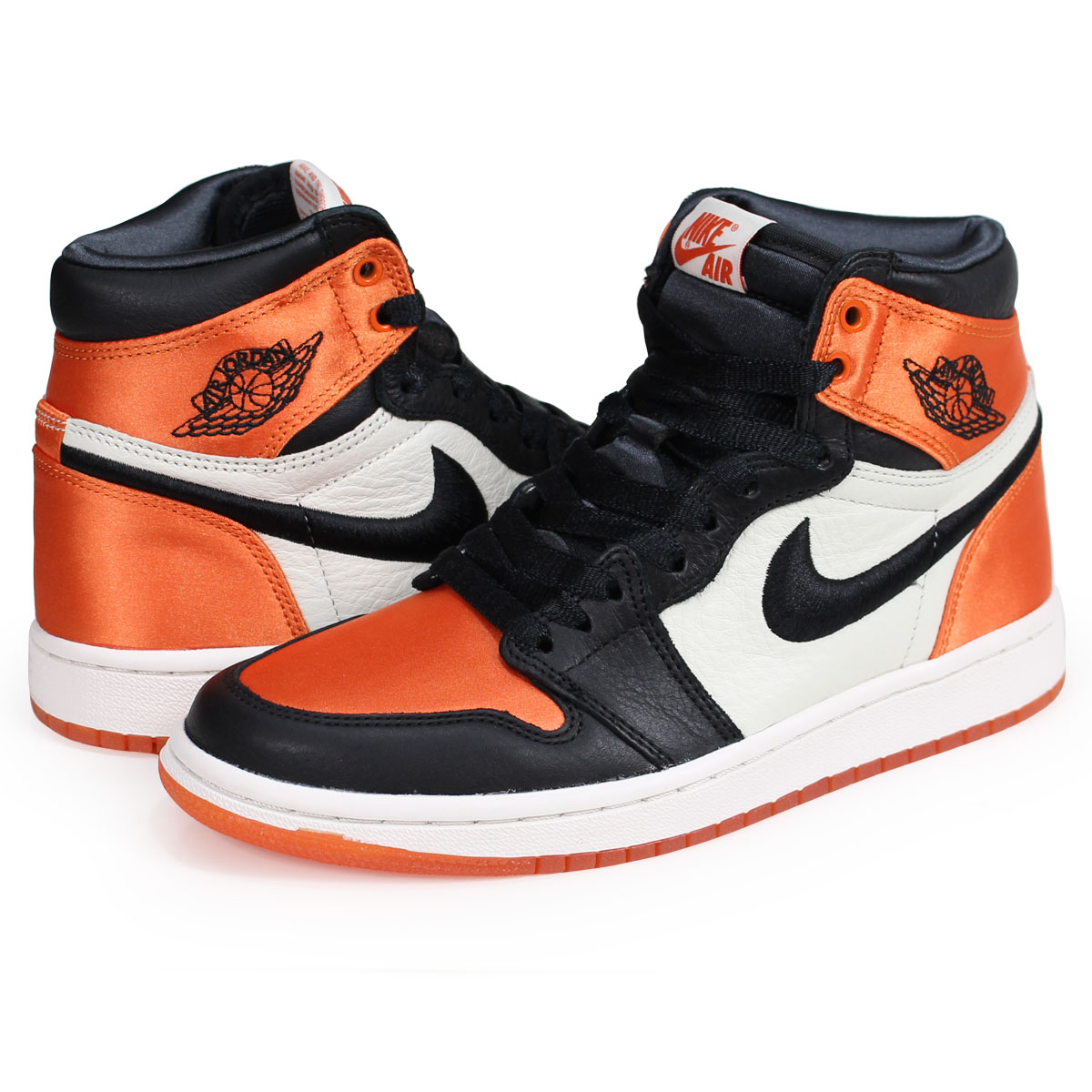 air jordan 1 orange satin