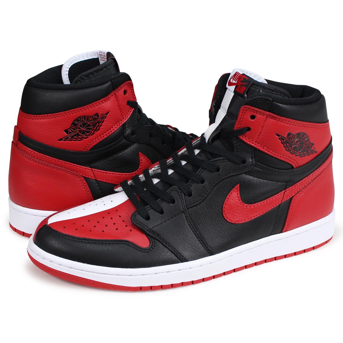 8c4732cb2a23 NIKE AIR JORDAN 1 RETRO HIGH OG HOMAGE TO HOME Nike Air Jordan 1 nostalgic  high men gap Dis sneakers 861