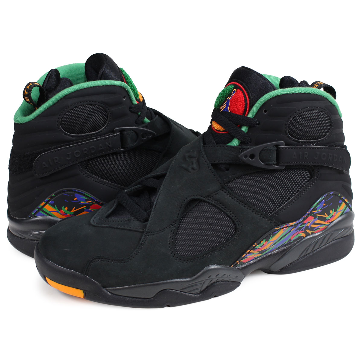 mieux aimé f64cc 06b07 Nike NIKE Air Jordan 8 nostalgic sneakers men AIR JORDAN 8 RETRO  305,381-004 black