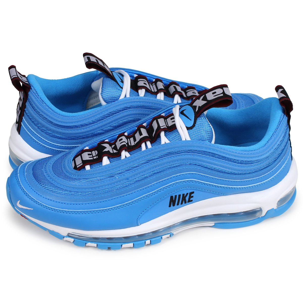 Nike NIKE Air Max 97 sneakers men AIR MAX 97 PREMIUM blue 312,834 401 [load planned Shinnyu load in reservation product 1122 containing]