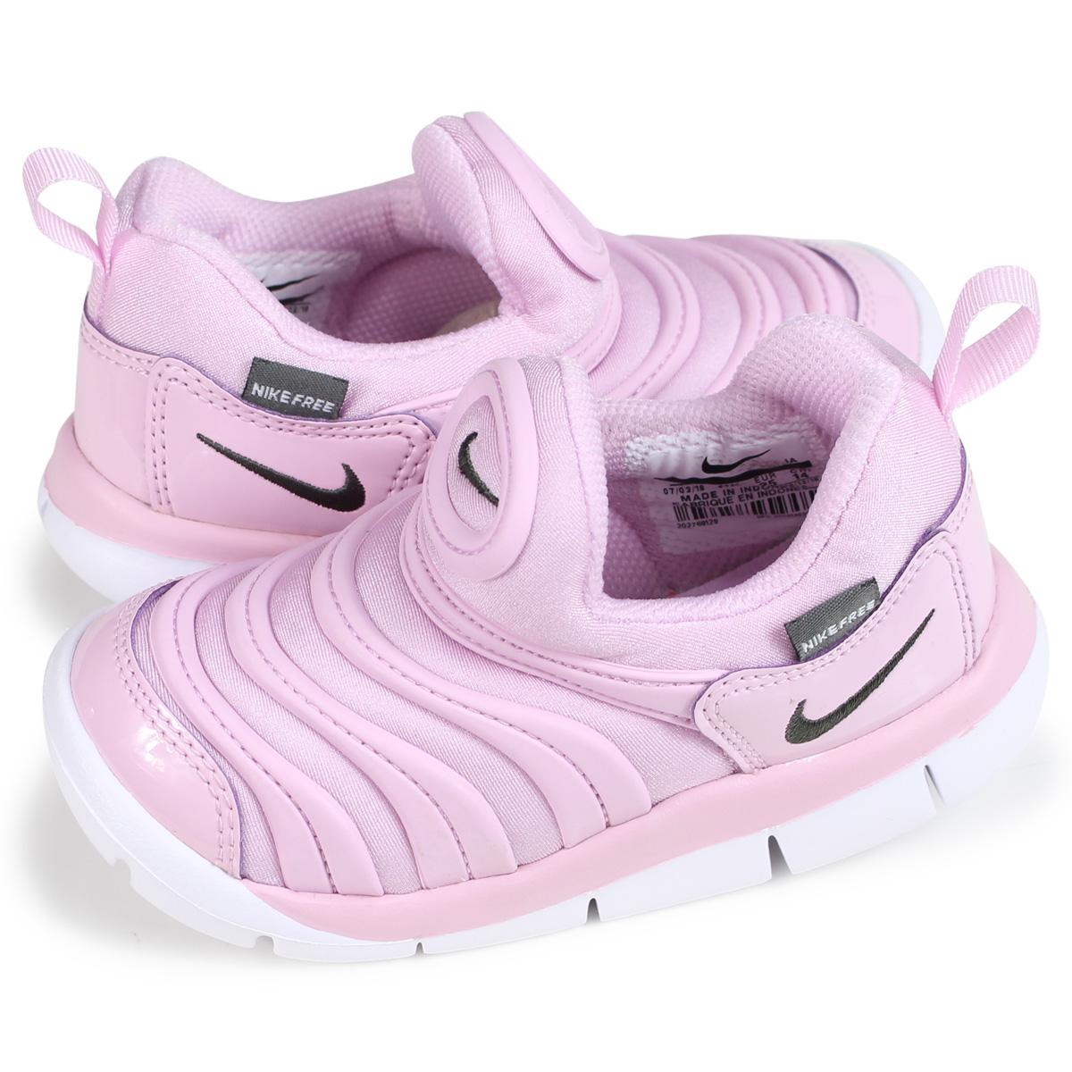 latest buy cheap fresh styles NIKE DYNAMO FREE TD Nike dynamo-free baby sneakers 343,938-628 pink