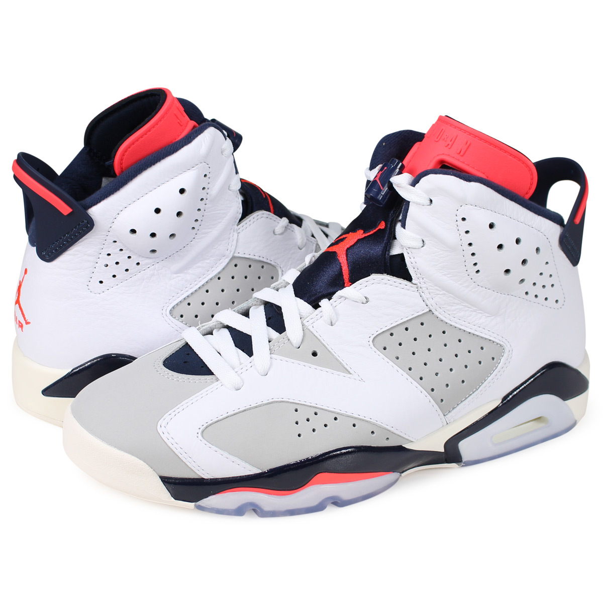 best cheap dbe7a 09bb3 Nike NIKE Air Jordan 6 nostalgic sneakers men AIR JORDAN 6 RETRO TINKER  white 384,664-104