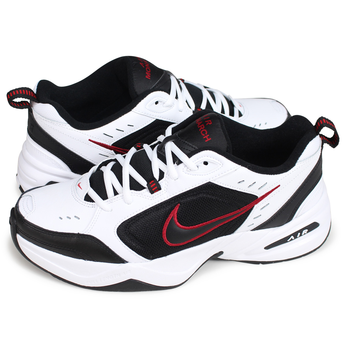 Nike NIKE エアモナーク 4 sneakers men AIR MONARCH IV DAD SHOES ダッドシューズ 415,445 102 white white