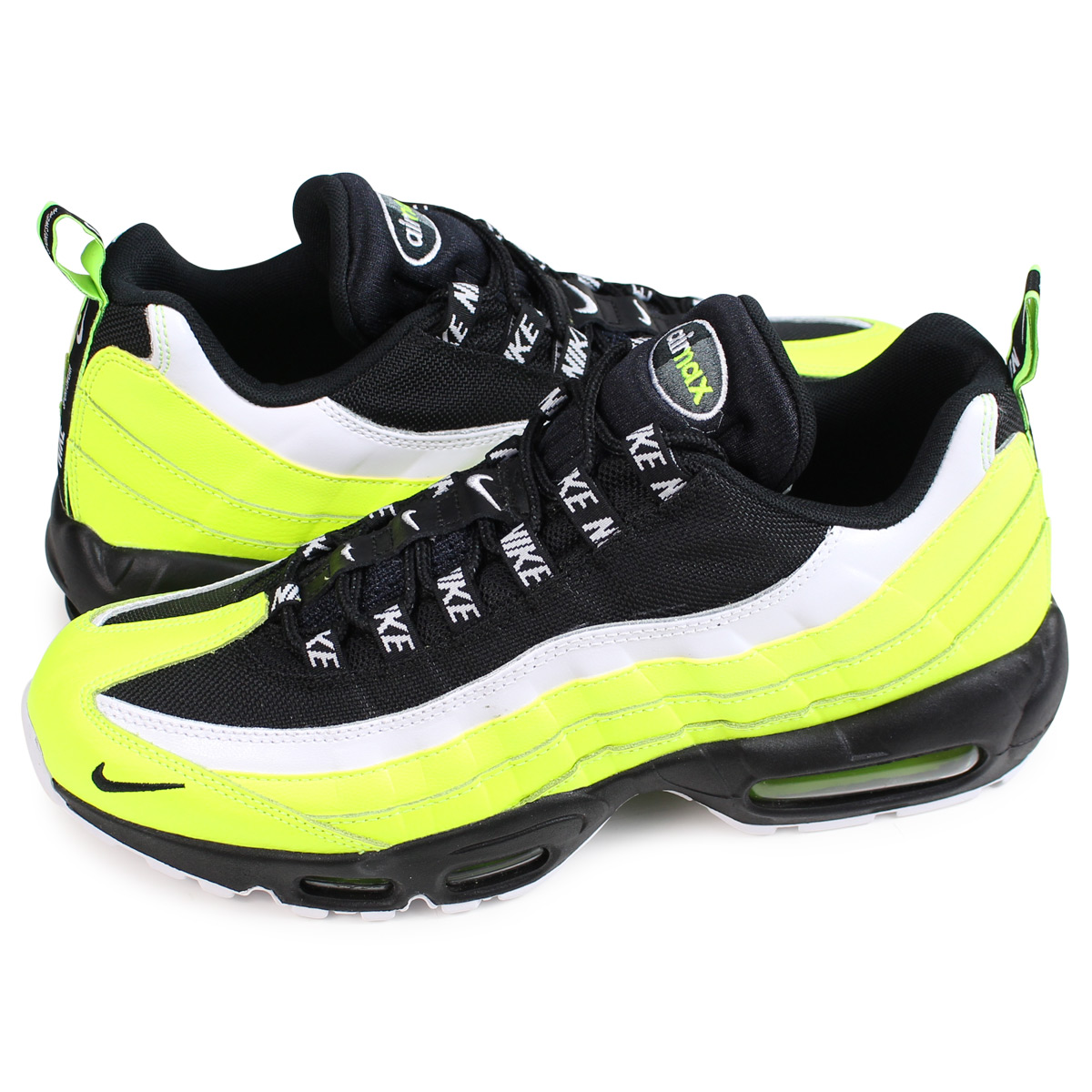 Nike NIKE Air Max 95 premium sneakers men AIR MAX 95 PREMIUM yellow 538,416 701