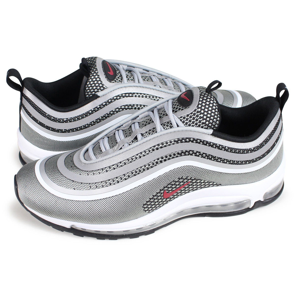 super popular 1318e ac378 NIKE AIR MAX 97 ULTRA 17 Kie Ney AMAX 97 ultra sneakers men 918,356-003  silver [load planned Shinnyu load in reservation product 10/22 containing]