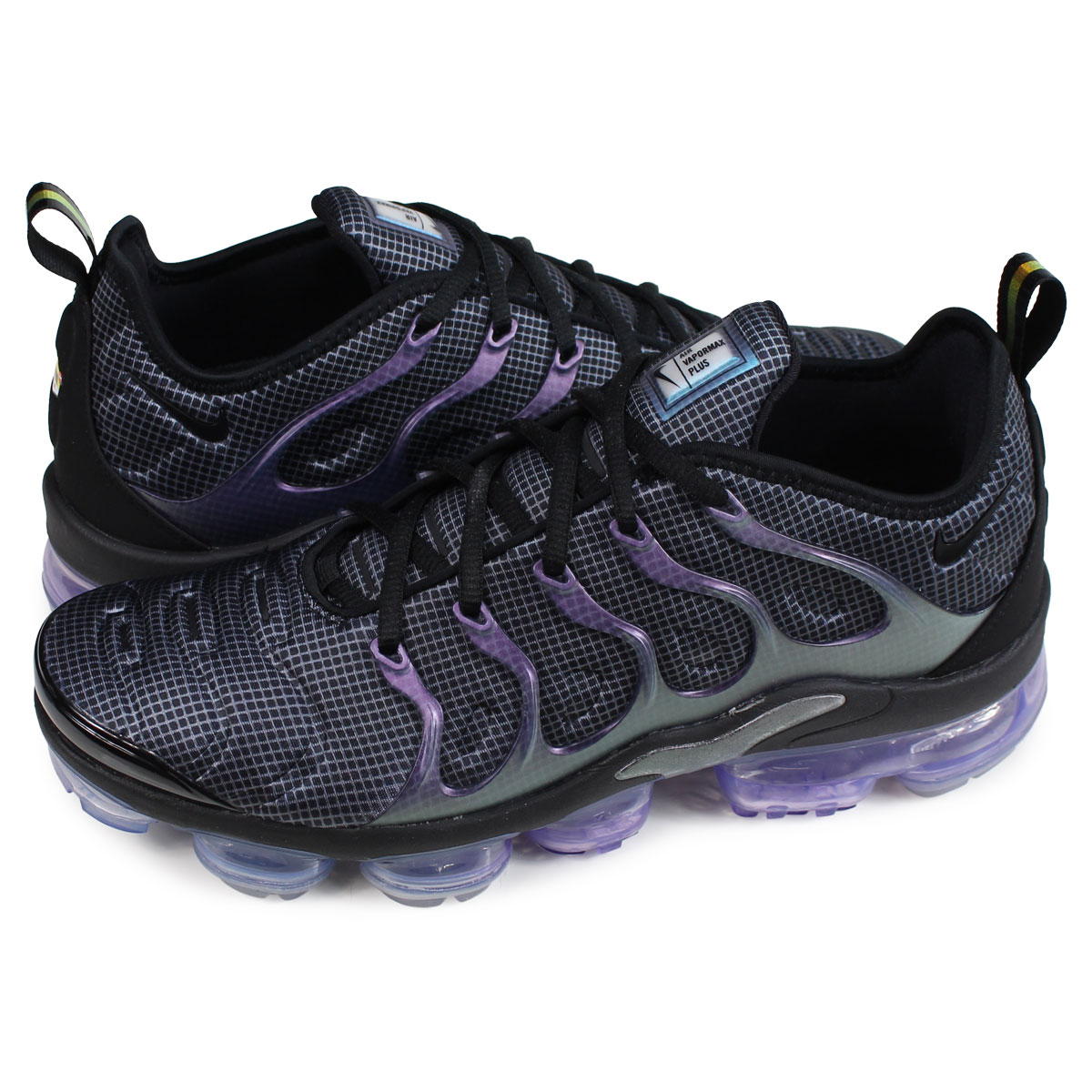 4cacc6c2e97a34 Nike NIKE air vapor max plus sneakers men AIR VAPORMAX PLUS black 924