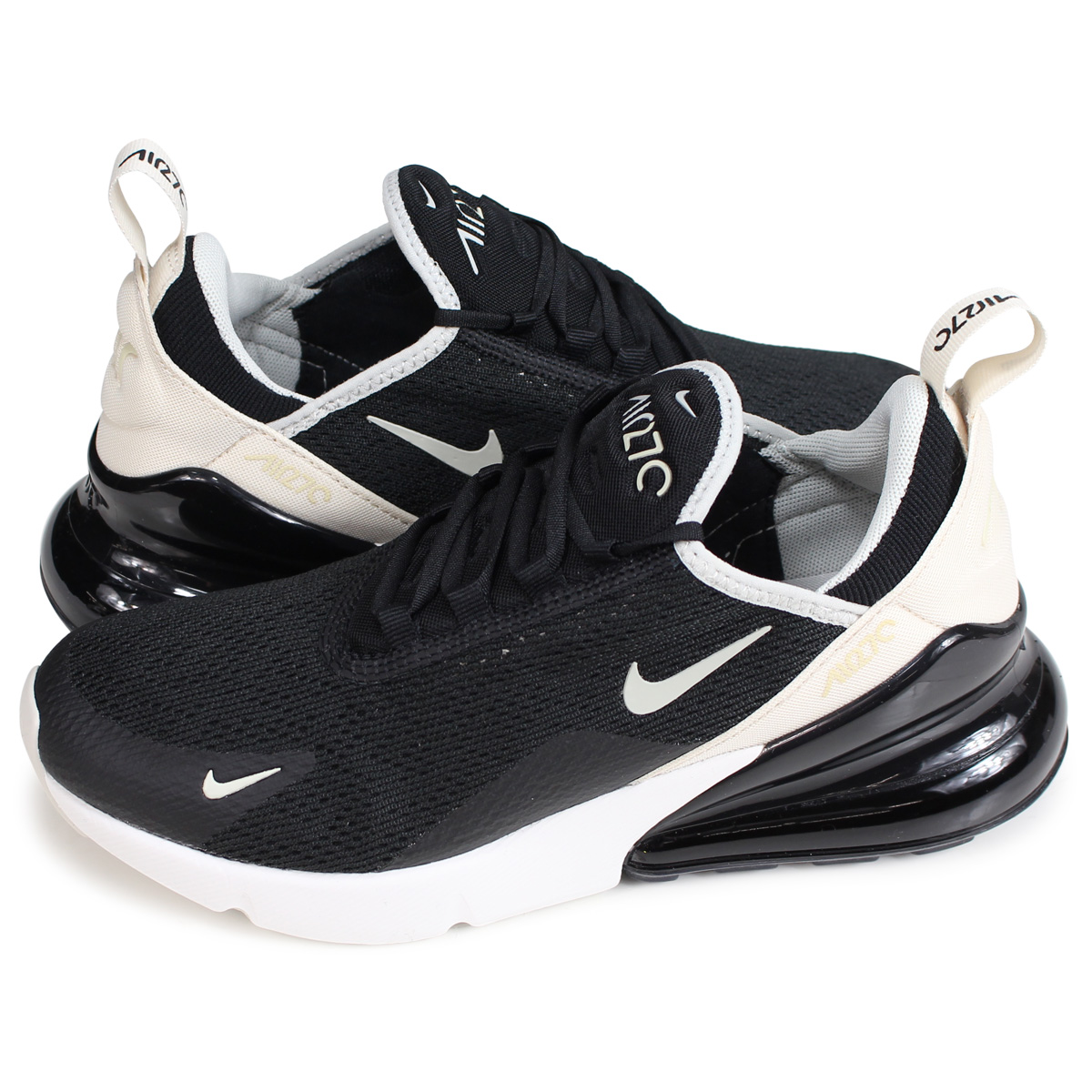 Nike NIKE Air Max 270 sneakers Lady's WMNS AIR MAX 270 black AH6789 010 [load planned Shinnyu load in reservation product 213 containing]
