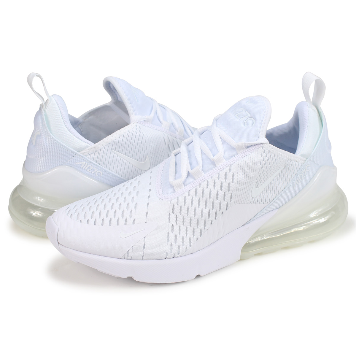 newest d18f8 11272 NIKE AIR MAX 270 Kie Ney AMAX 270 sneakers men AH8050-101 white [10/3  Shinnyu load]