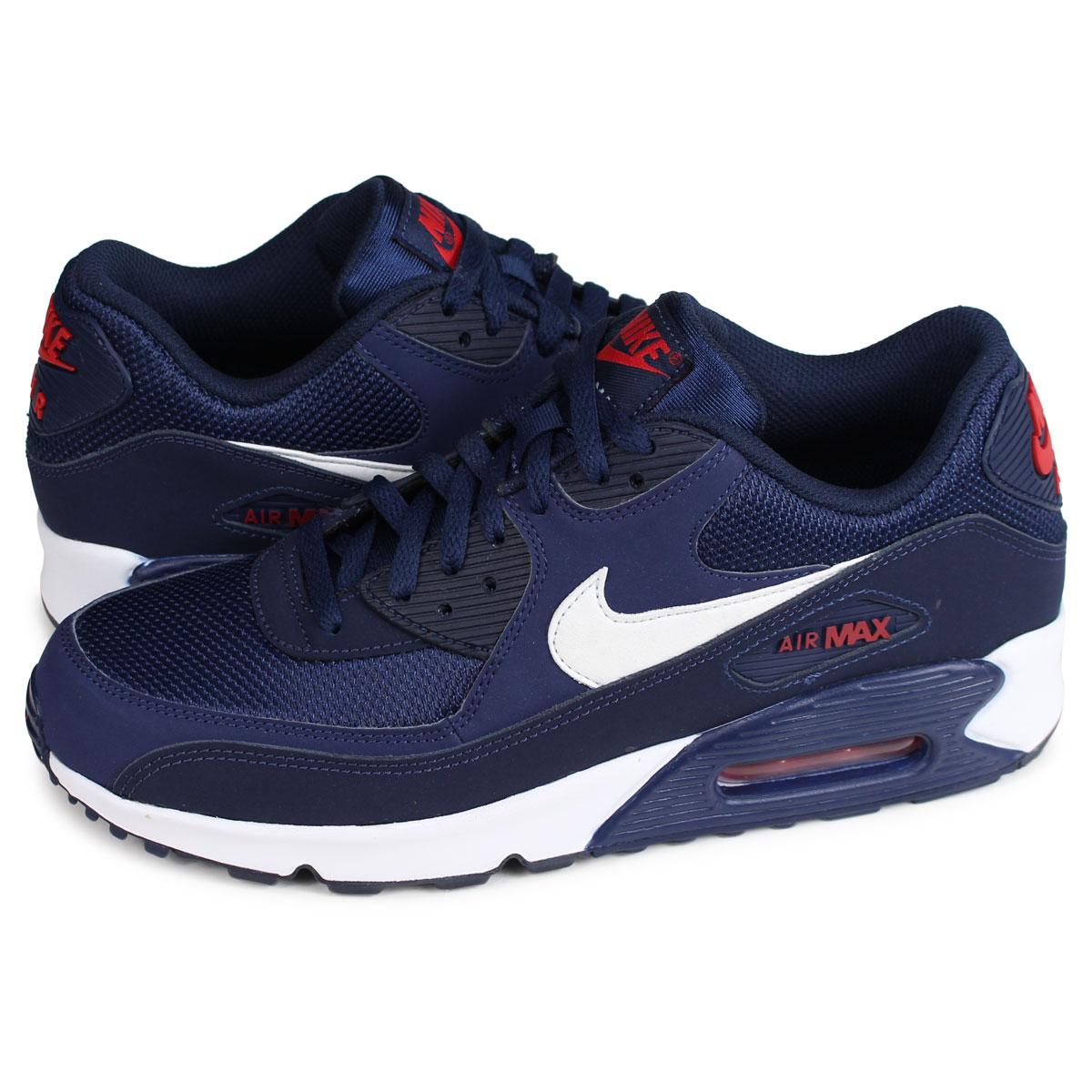 Aj1285 Nike 403 90 Air Max Navy Midnight Shop Essential