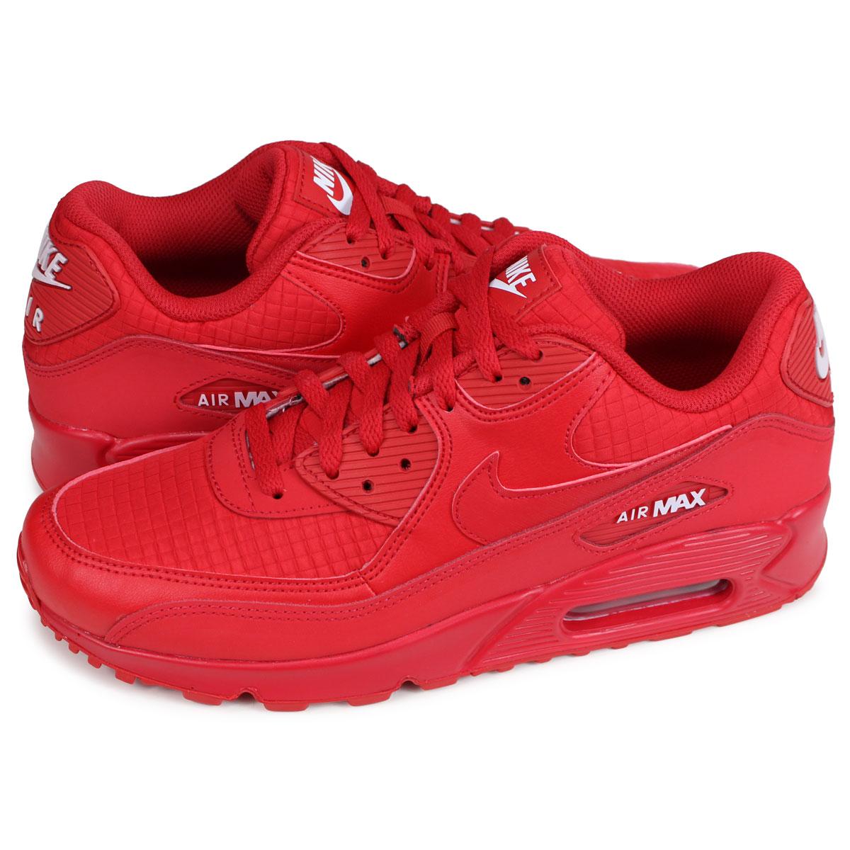 Nike NIKE Air Max 90 essential sneakers men gap Dis AIR MAX 90 ESSENTIAL red red AJ1285 602