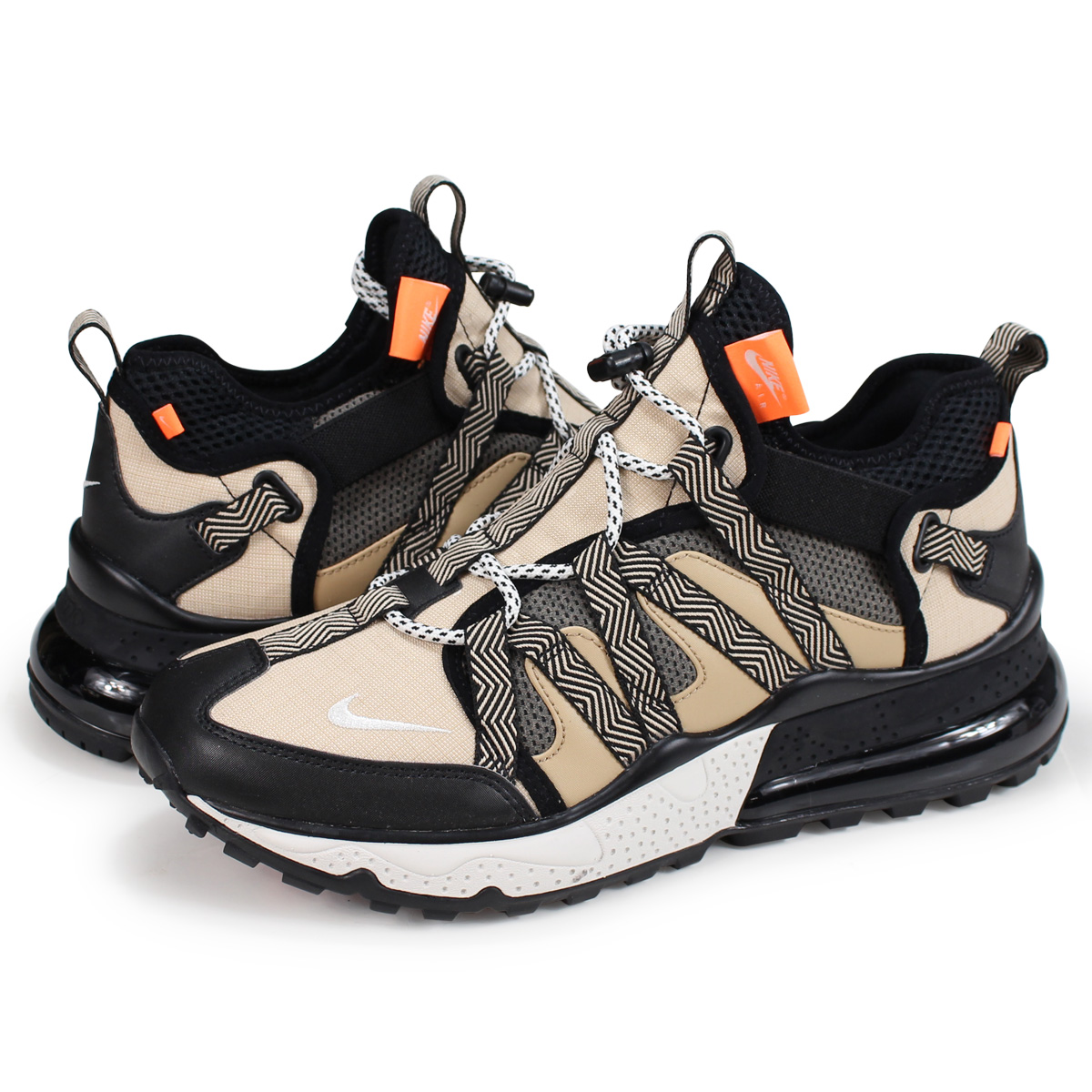 new concept 20a53 d73ac NIKE AIR MAX 270 BOWFIN Kie Ney AMAX 270 sneakers men AJ7200-001 black  [load planned Shinnyu load in reservation product 10/3 containing]
