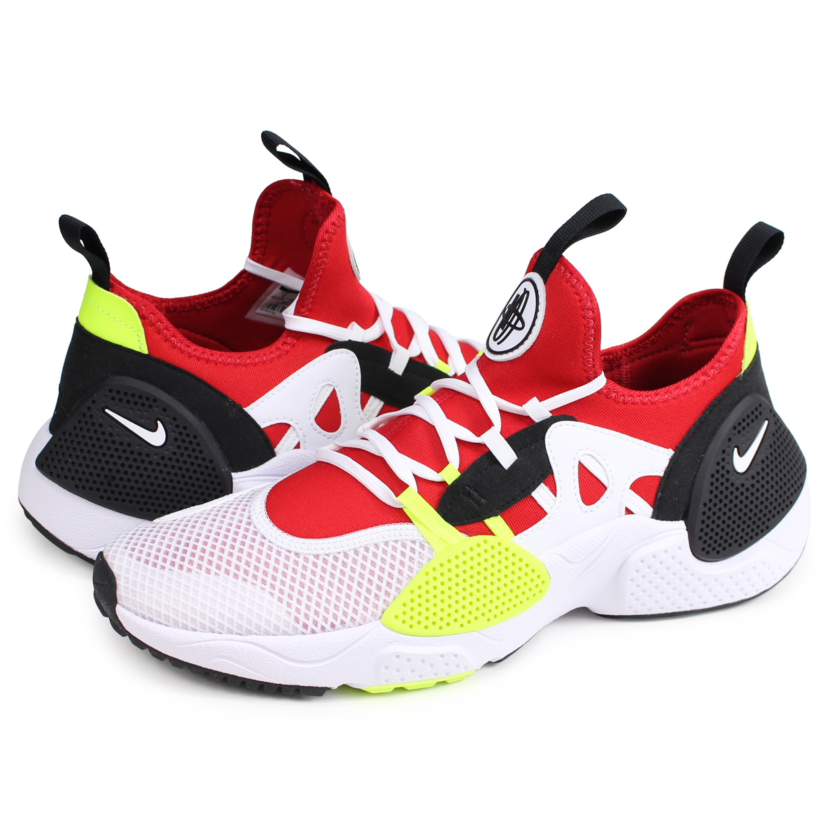 6af27ec00ef5 Nike NIKE エアハラチスニーカーメンズ AIR HUARACHE NIKE HUARACHE E.D.G.E. TXT red AO1697- 100  load planned Shinnyu load in reservation product 2 14 ...