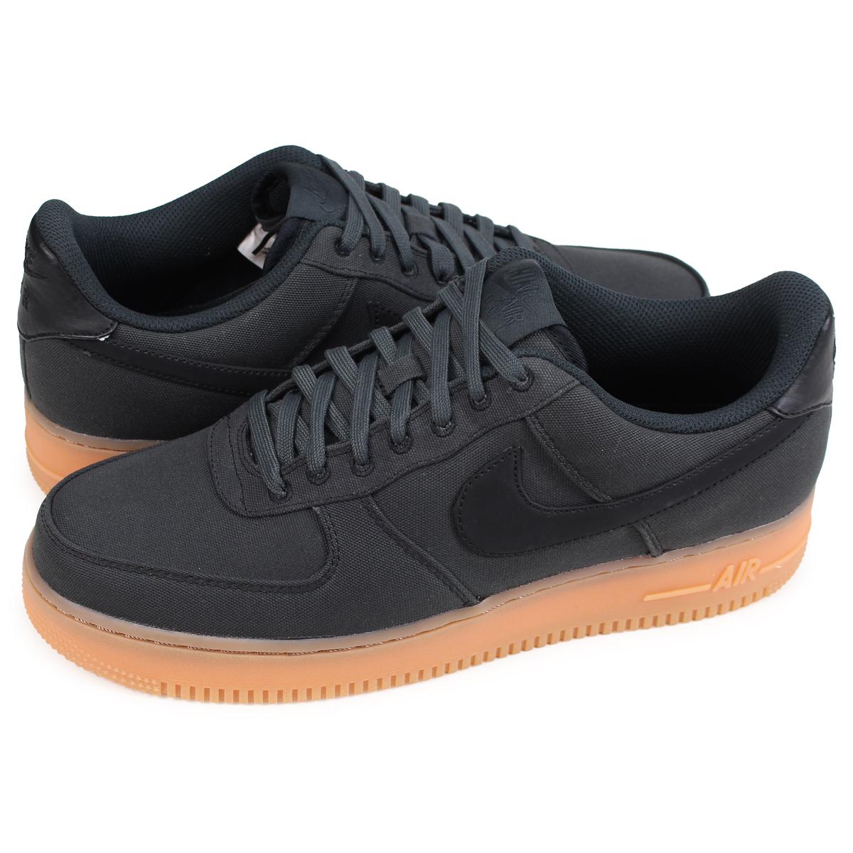 Black suede Nike Air Force 1