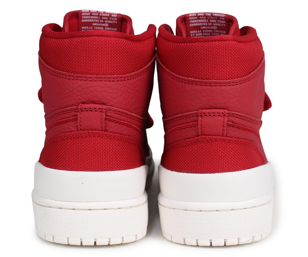 best quality 567ac 31374 NIKE AIR JORDAN 1 RETRO HI DOUBLE STRAP Nike Air Jordan 1 nostalgic high  sneakers men AQ7924-601 red [load planned Shinnyu load in reservation  product ...