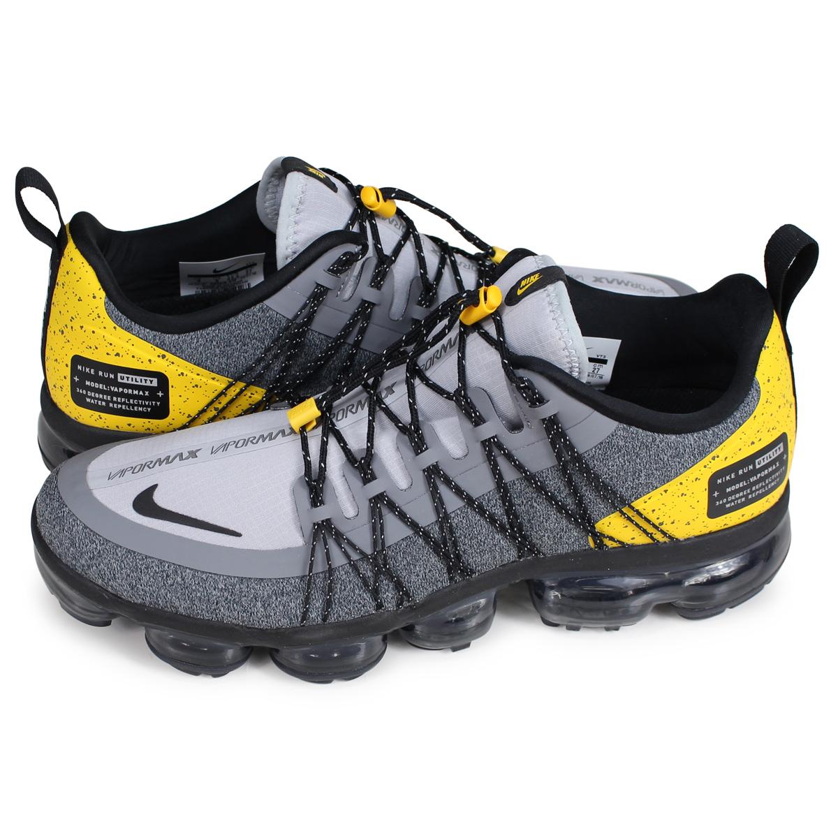 24c186f84b2d Nike NIKE air vapor max sneakers men AIR VAPORMAX RUN UTILITY gray  AQ8810-010  2 19 Shinnyu load