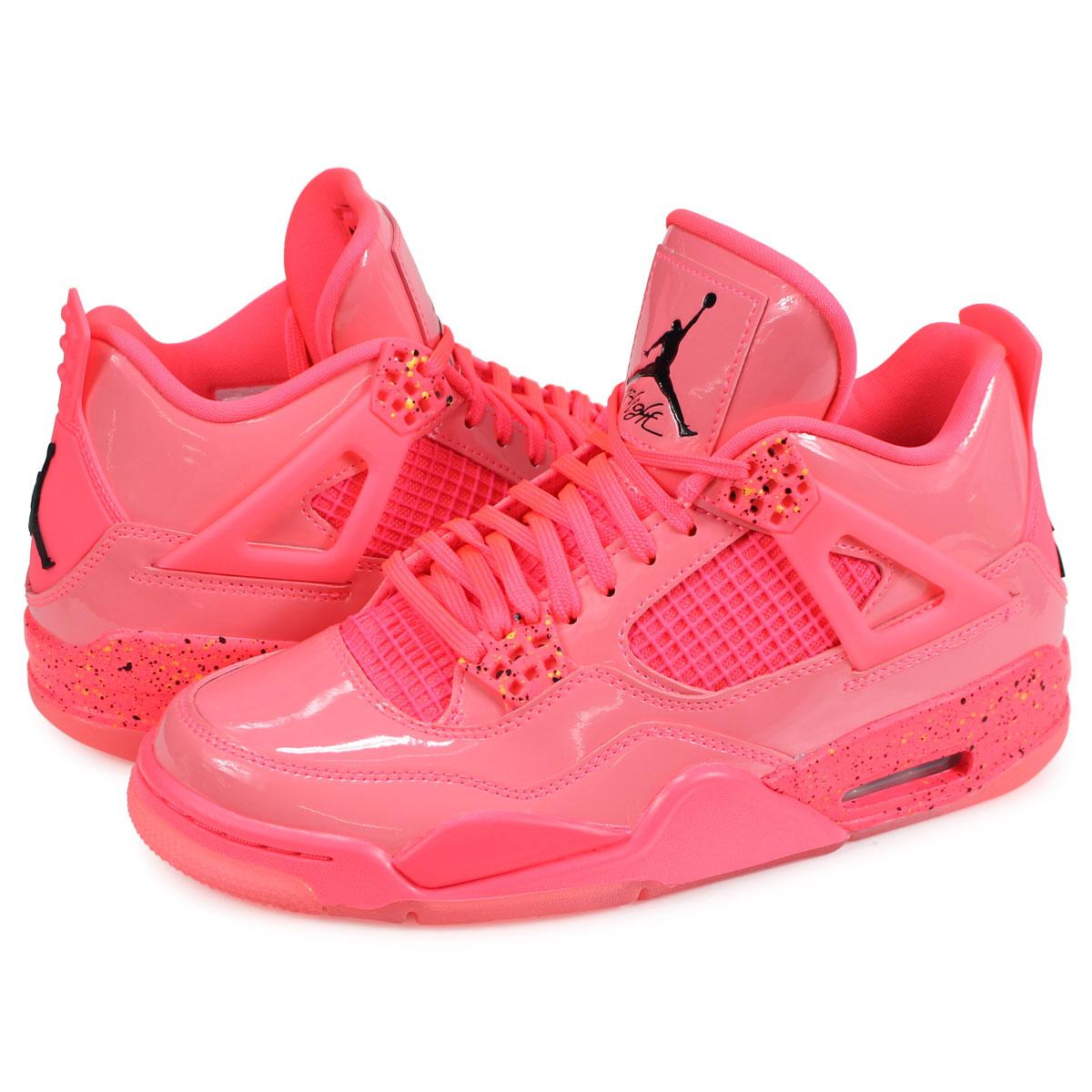 reputable site 23610 f2806 Nike NIKE Air Jordan 4 nostalgic sneakers Lady s men WMNS AIR JORDAN 4 RETRO  NRG pink ...