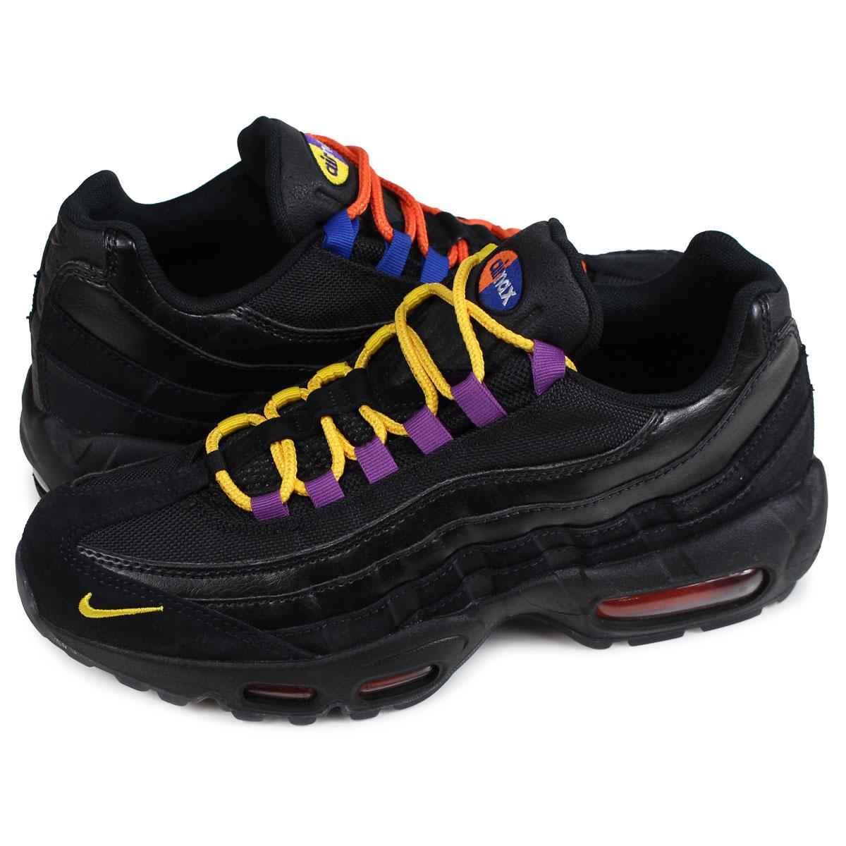 new style 30df1 53c5c Nike NIKE Air Max 95 sneakers men AIR MAX 95 PREMIUM black AT8505-001  1 18  Shinnyu load