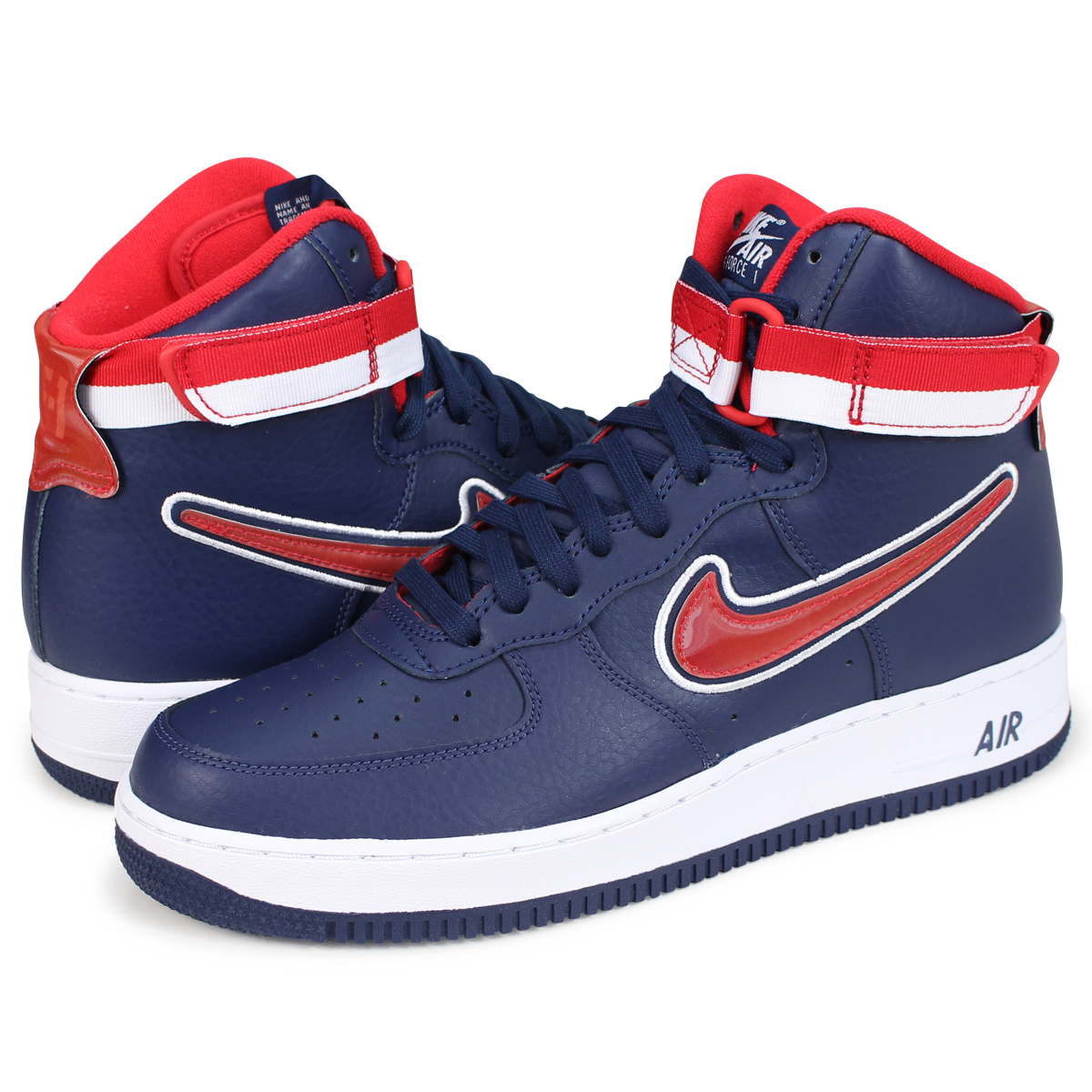buy popular b13bf 271e2 ... low mist blue midnight b4226 629cd  new zealand nike air force 1 07 lv8  sport nike air force 1 high sneakers men