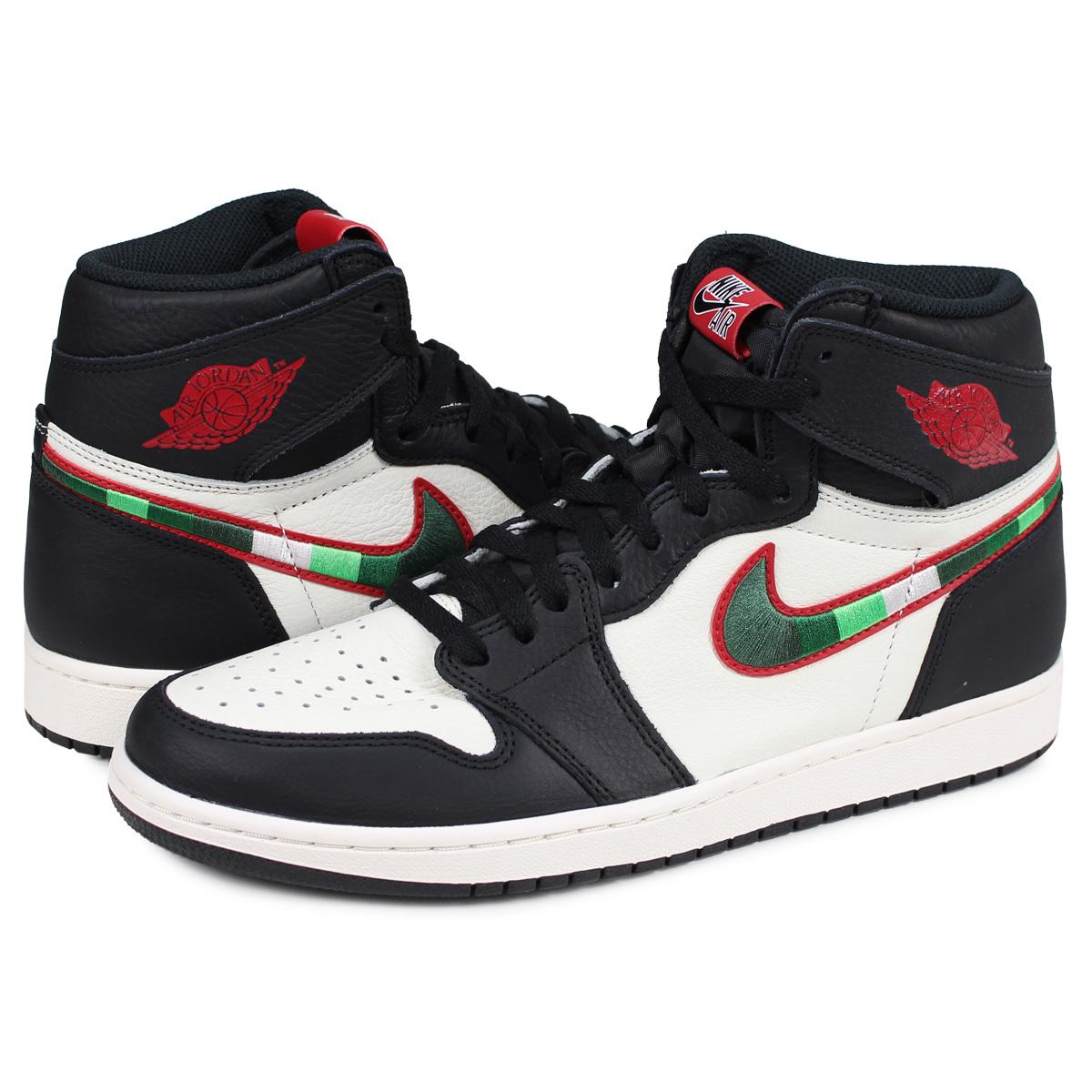 f1ab815c8c1031 Nike NIKE Air Jordan 1 nostalgic high sneakers men AIR JORDAN 1 RETRO HIGH  OG SPORTS ILLUSTRATED black black 555