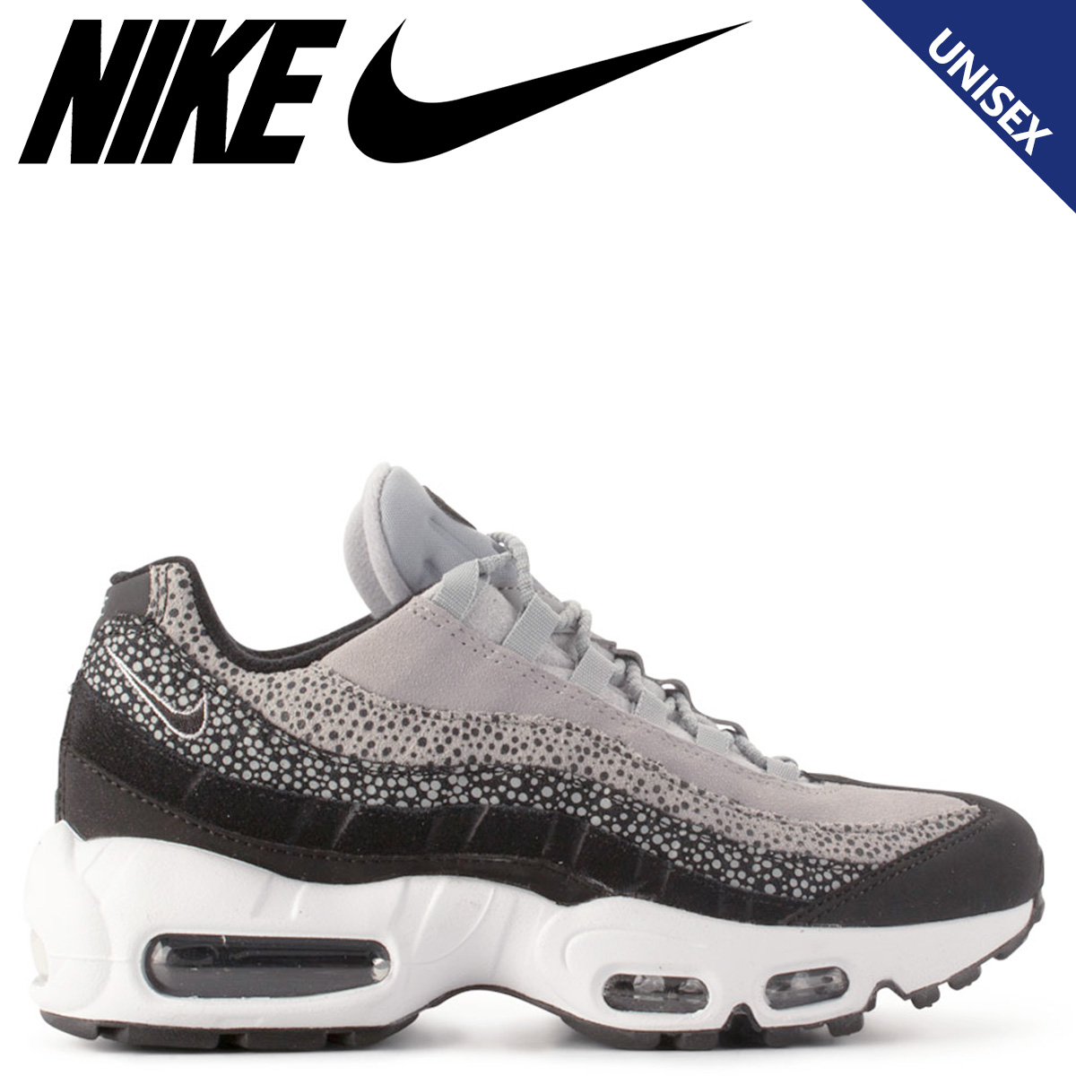 Nike NIKE Air Max 95 sneakers men gap Dis WMNS AIR MAX 95 PREMIUM black black 807,443 016