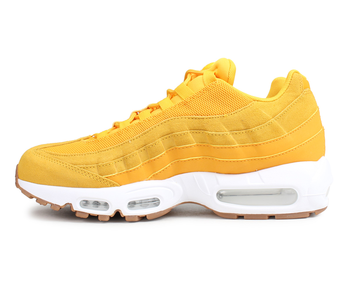 buy popular adb4e 8eed7 Nike NIKE Air Max 95 sneakers Lady's men WMNS AIR MAX 95 PREMIUM yellow  807,443-701