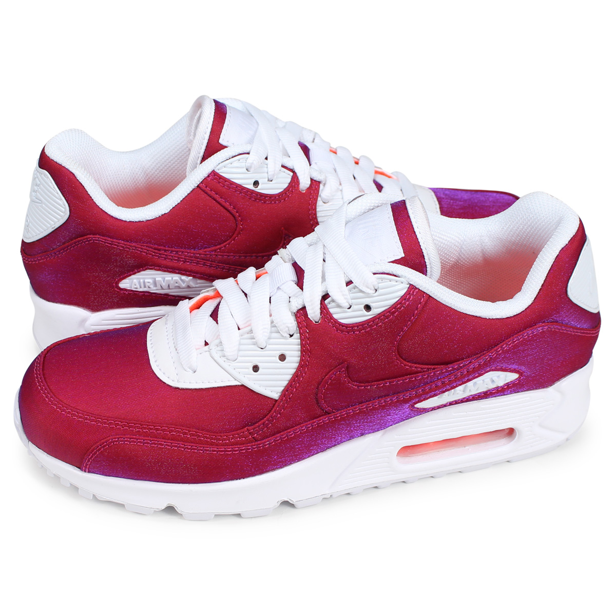 Nike NIKE Air Max 90 sneakers Lady's WMNS AIR MAX 90 SE red 881,105 800