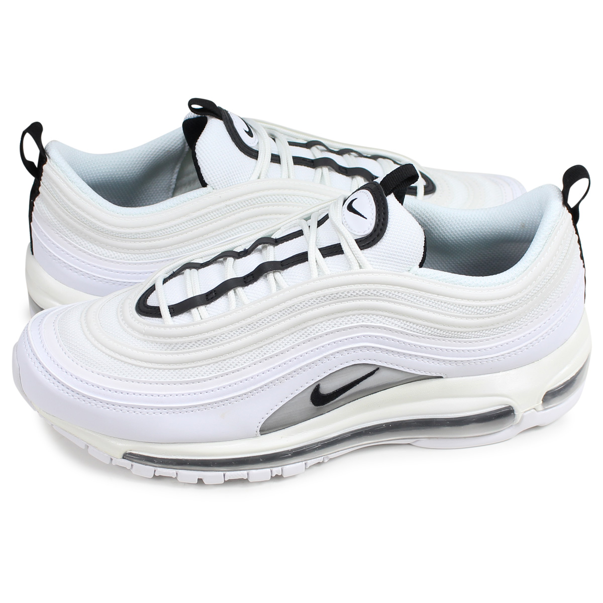low cost 8bfde 3e66e Nike NIKE Air Max 97 sneakers Lady's men WMNS AIR MAX 97 white white  921,733-103