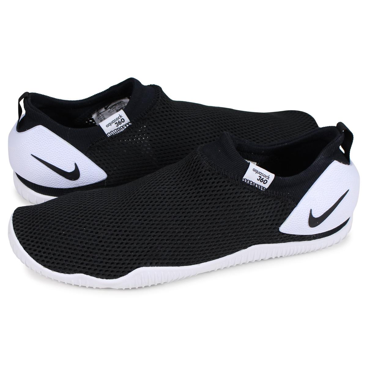 5ba5c5ff3d Nike NIKE アクアソック 360 sneakers water shoes kids AQUA SOCK 360 GS PS black  black 943,758 ...