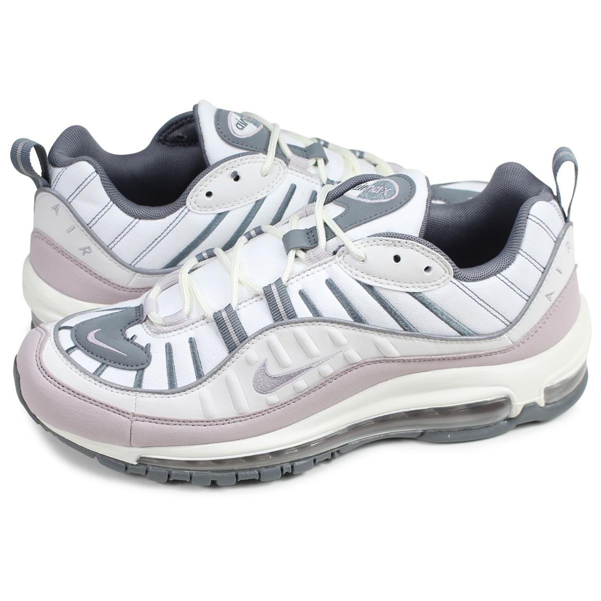 Nike NIKE Air Max 98 sneakers Lady's men WMNS AIR MAX 98 white white AH6799 111