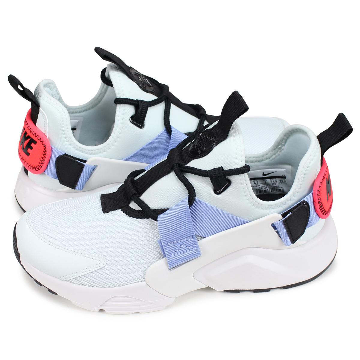 12b6cb5bd3b4f Nike NIKE エアハラチシティスニーカーレディースメンズ WMNS AIR HUARACHE CITY LOW white AH6804-403
