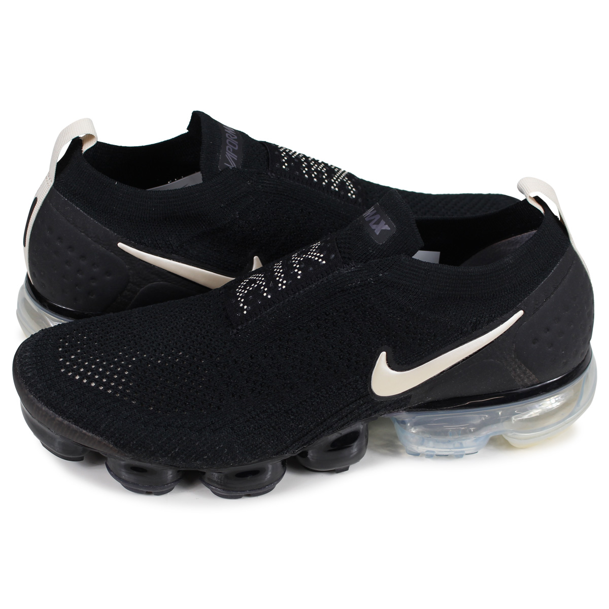 Nike NIKE air vapor max fried food knit 2 sneakers men AIR VAPORMAX FLYKNIT  MOC 2 black black AH7006-002