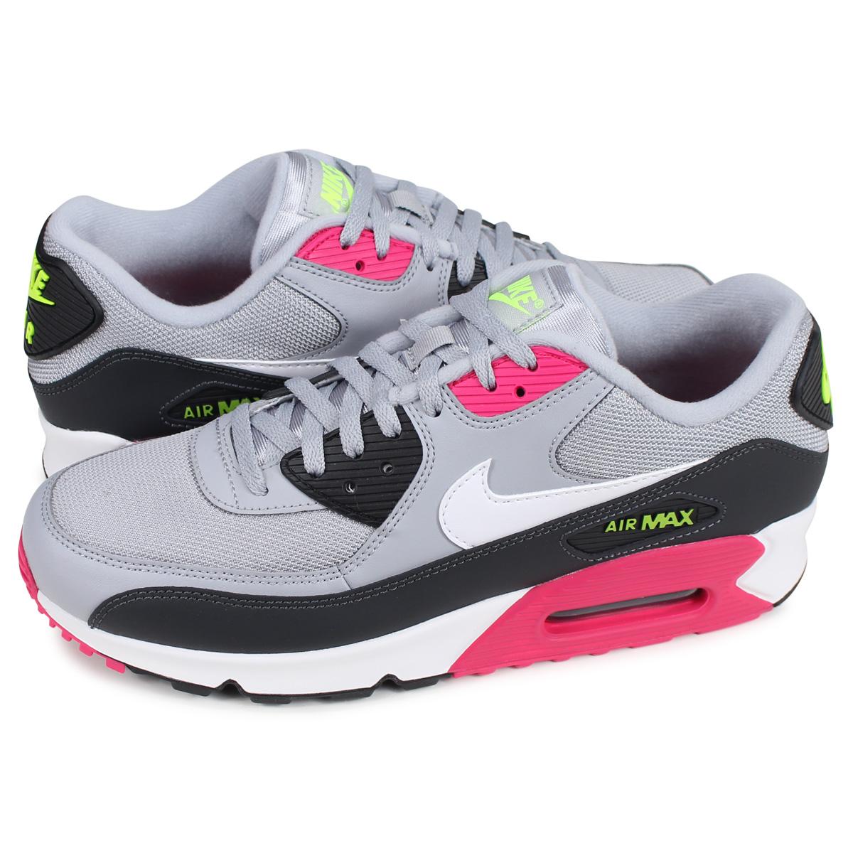 Nike NIKE Air Max 90 essential sneakers men AIR MAX 90 ESSENTIAL gray AJ1285 020 [823 reentry load]