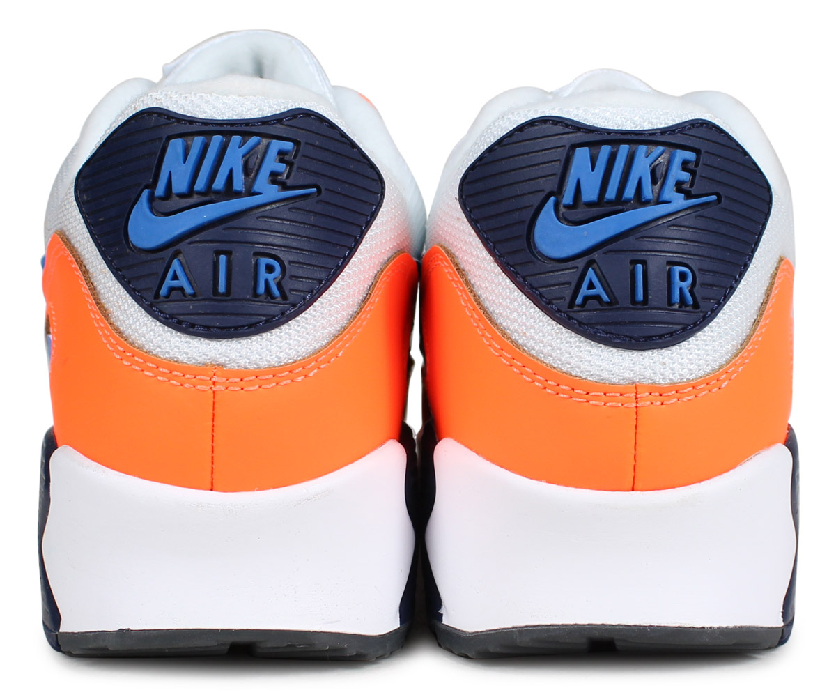 Nike Air Max 90 Orange Blue AJ1285 104  