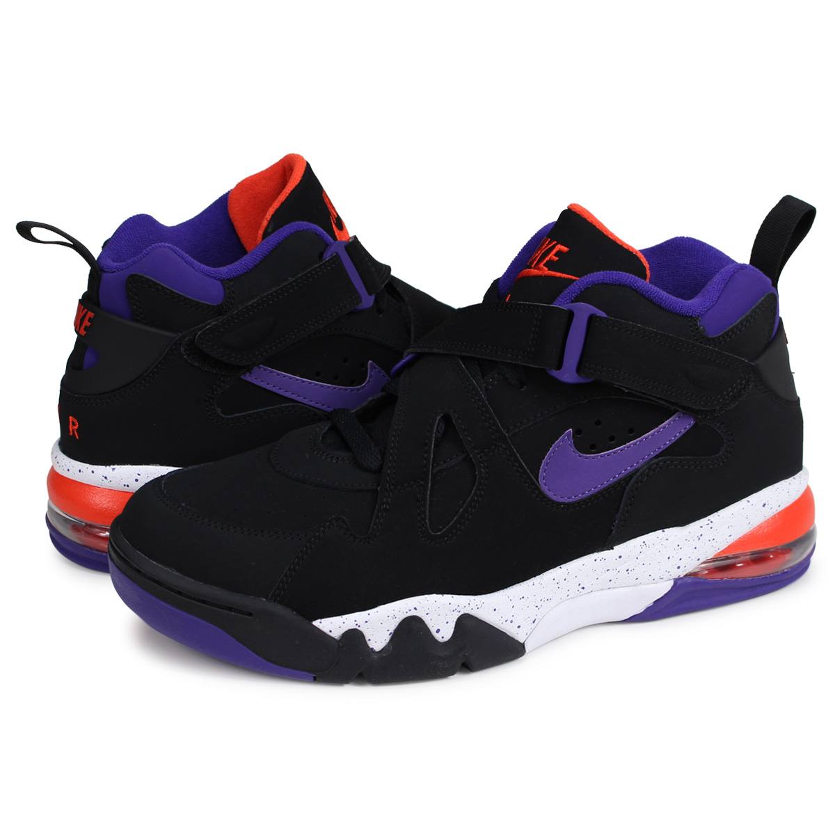 buy popular 32afe e2391 Nike NIKE air force max sneakers men AIR FORCE MAX CB black black AJ7922-002   load planned Shinnyu load in reservation product 4 3 containing