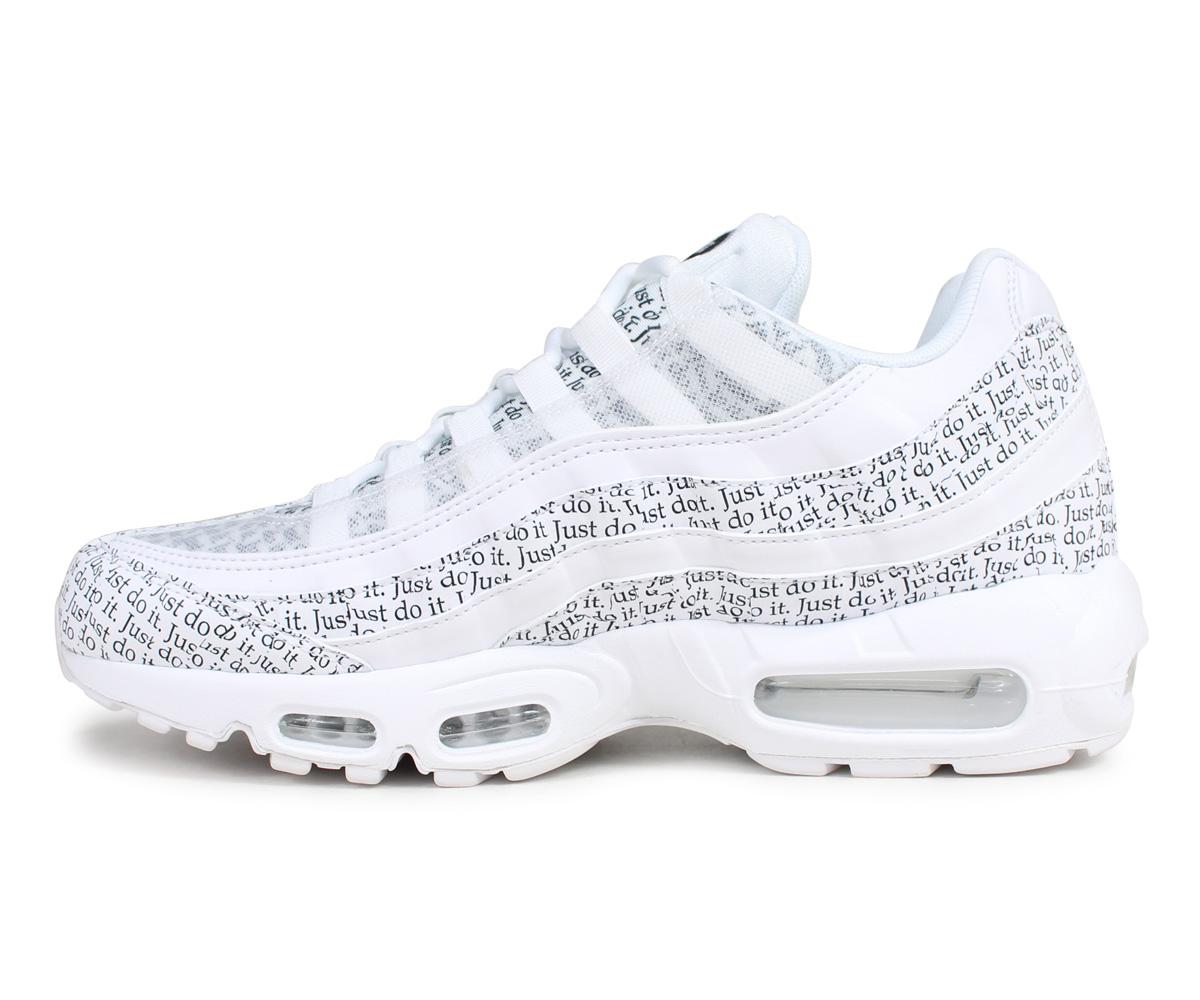 low priced d80dd b51cf Nike NIKE Air Max 95 sneakers men AIR MAX 95 SE JUST DO IT white white  AV6246-100 [6/5 Shinnyu load]