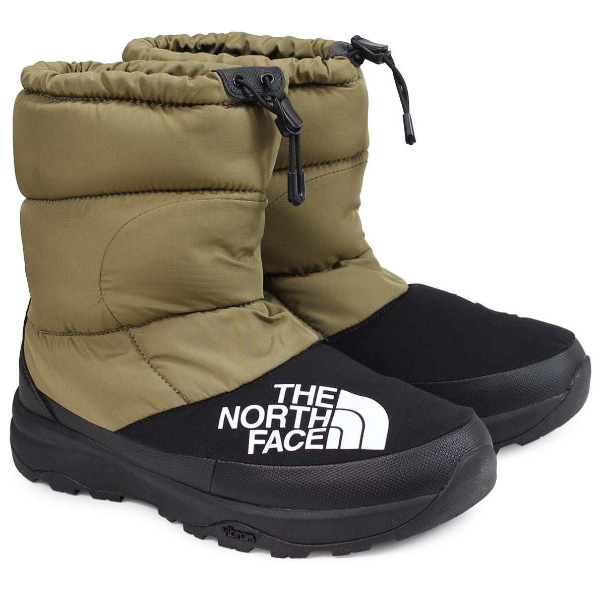 THE NORTH FACE NUPTSE DOWN BOOTIE ノースフェイス ヌプシダウンブーティ ブーツ メンズ カーキ NF51877