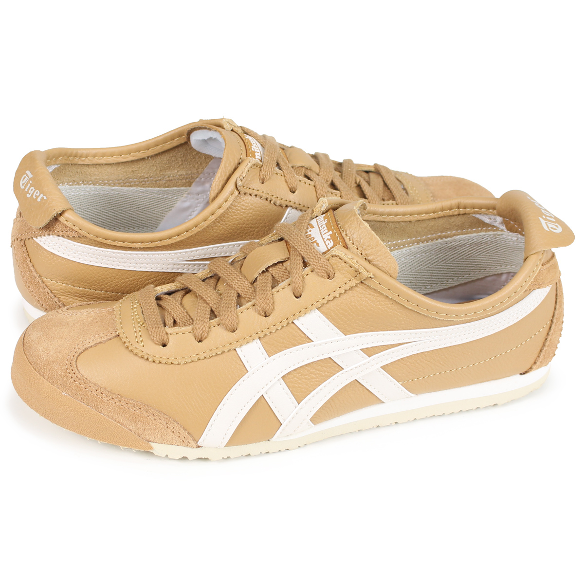 032ecba2ba3 Onitsuka Tiger MEXICO 66 Onitsuka tiger Mexico 66 men s lady s sneakers  1183A201-200 brown beige  load planned Shinnyu load in reservation product  8 2 ...