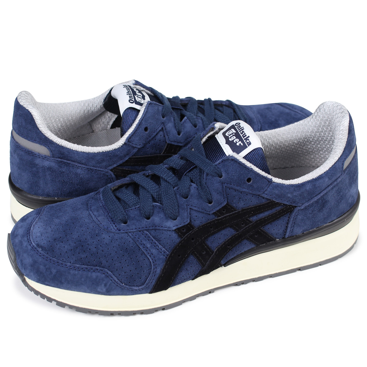 100% authentic b13b2 c6108 Onitsuka Tiger TIGER ALLY Onitsuka tiger tiger Alley men gap Dis sneakers  D701L-5890 TH701L-5890 navy [load planned Shinnyu load in reservation ...