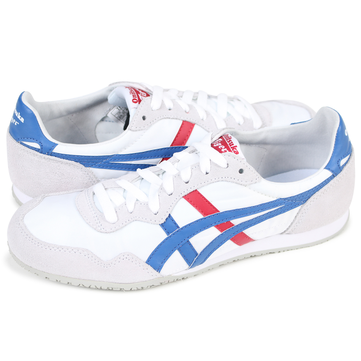372f2c603edf  SOLD OUT  Onitsuka Tiger asics ONITSUKA Tiger ASICs Serrano sneakers  SERRANO TH 109L-0142 men s women s shoes white