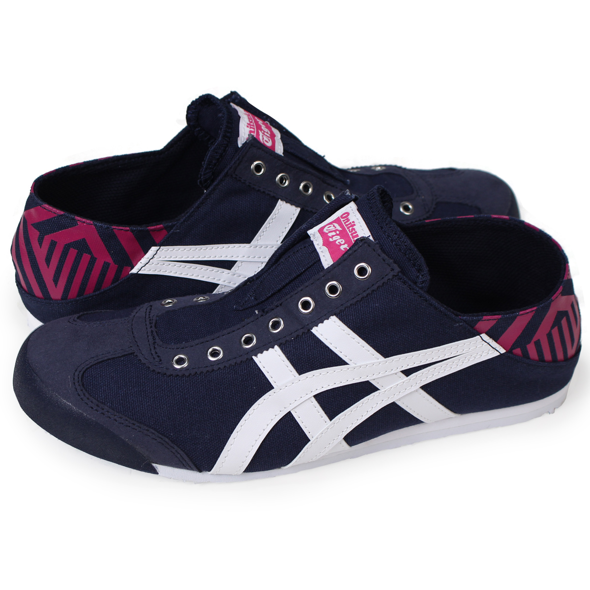 reputable site 5ea81 12f53 Onitsuka Tiger MEXICO 66 PARATY Onitsuka tiger Mexico 66 slip-ons men gap  Dis sneakers TH342N-5801 navy
