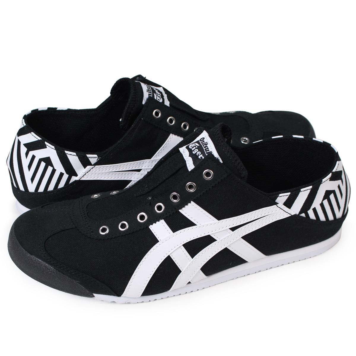 brand new d3fbc ac270 Onitsuka Tiger MEXICO 66 PARATY Onitsuka tiger Mexico 66 slip-ons men gap  Dis sneakers TH342N-9001 black