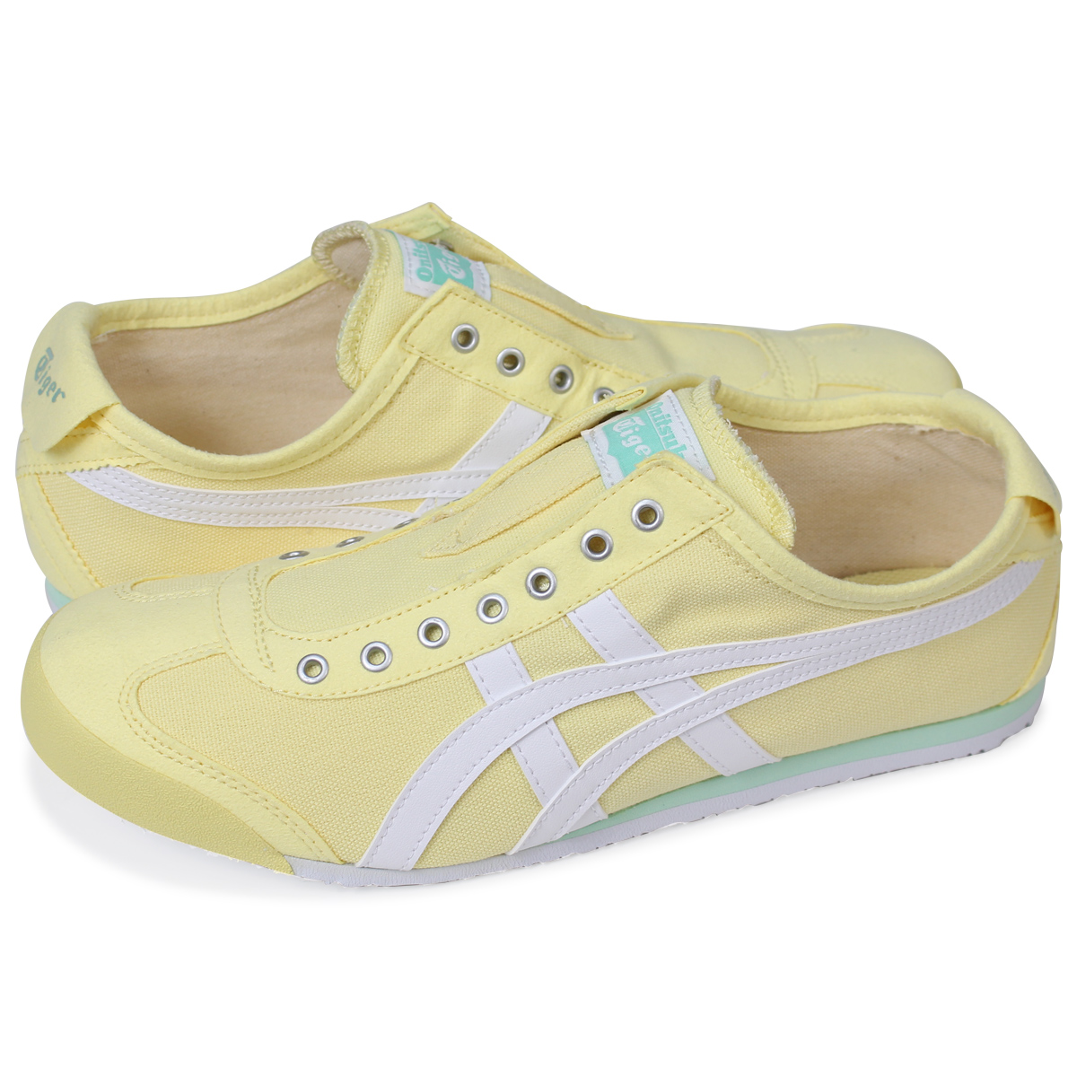 innovative design 30df7 ffad1 Onitsuka Tiger MEXICO 66 SLIP-ON Onitsuka tiger Mexico 66 slip-ons men gap  Dis sneakers TH3K0N-0301 yellow
